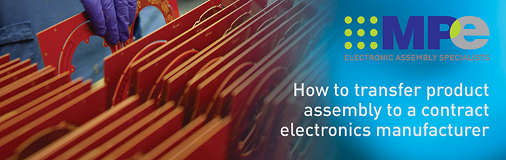 How to transfer product assembly to a contract electronics manufacturer