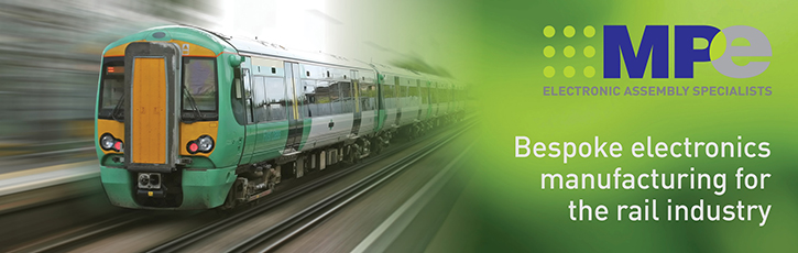 Bespoke electronics manufacturing for the rail industry