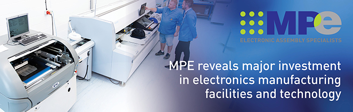 MPE reveals major investment in electronics manufacturing facilities and technology
