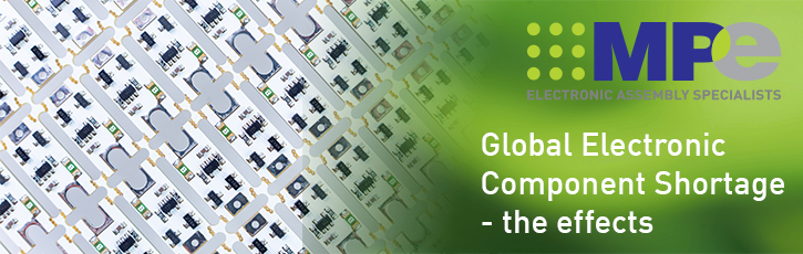 Global electronic component shortage – the effects