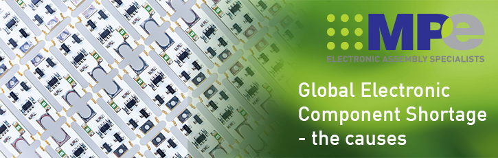 The global electronic component shortage – the causes