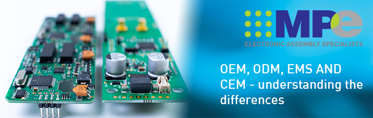 The difference between an OEM, an ODM, an EMS and a CEM, and why you need to know