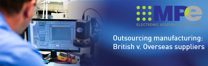 Outsourcing manufacturing: British v. overseas suppliers