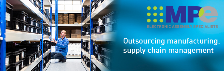 Outsourcing manufacturing: supply chain management