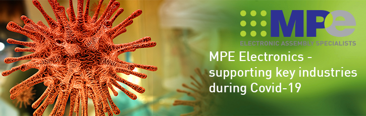 MPE Electronics - supporting key industries during Covid-19
