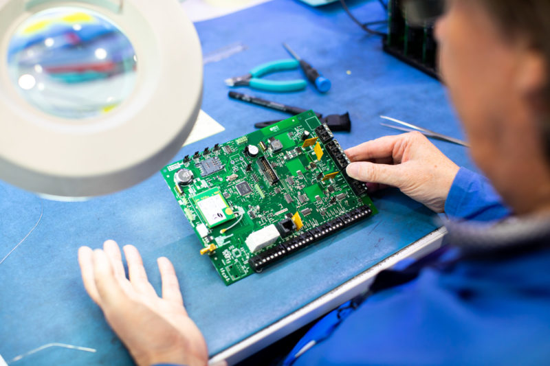 PCB Board Assembly by MPE Electronics