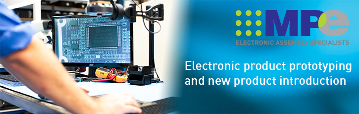 Electronic product prototyping and new product introduction