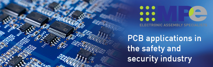 PCB applications in the safety and security industry